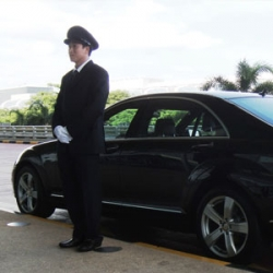 Car and chauffeur