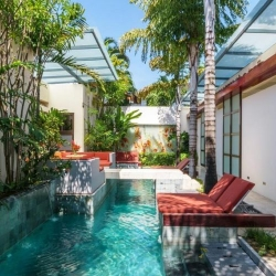 Ginger Suite - Pool Side Terrace