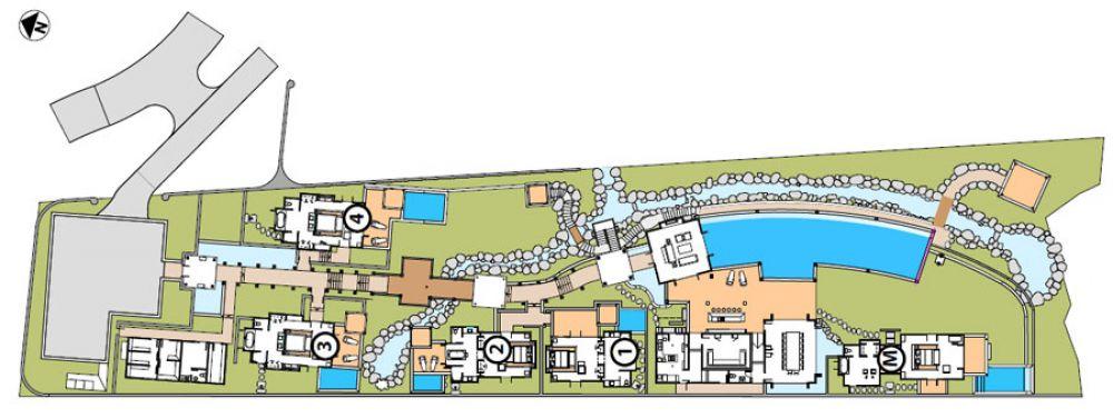 Floorplan Villa BUKIT 514C