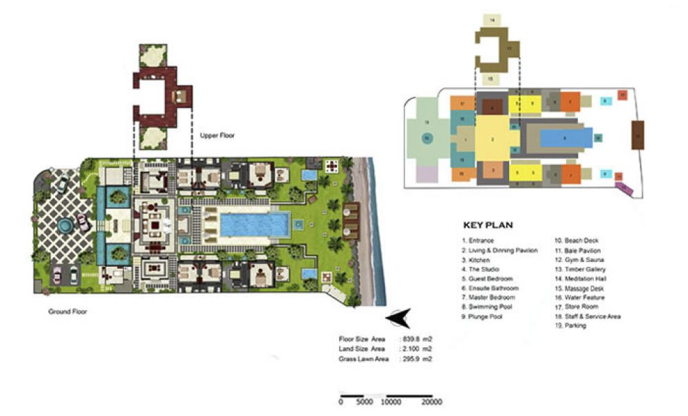Floorplan Villa KETEWEL 605