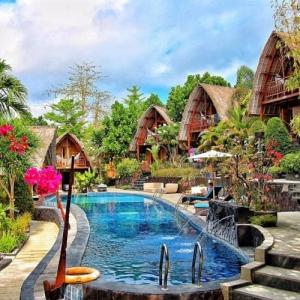 Hidden Valley Resort Bali - The Lumbung Family Bea
